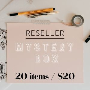 RESELLER MYSTERY BOX: 20 ITEMS / $20